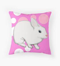Osterhasen-Kaninchen-Rosa Kissen