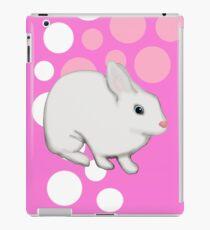 Osterhasen-Kaninchen-Rosa iPad-Hülle & Skin