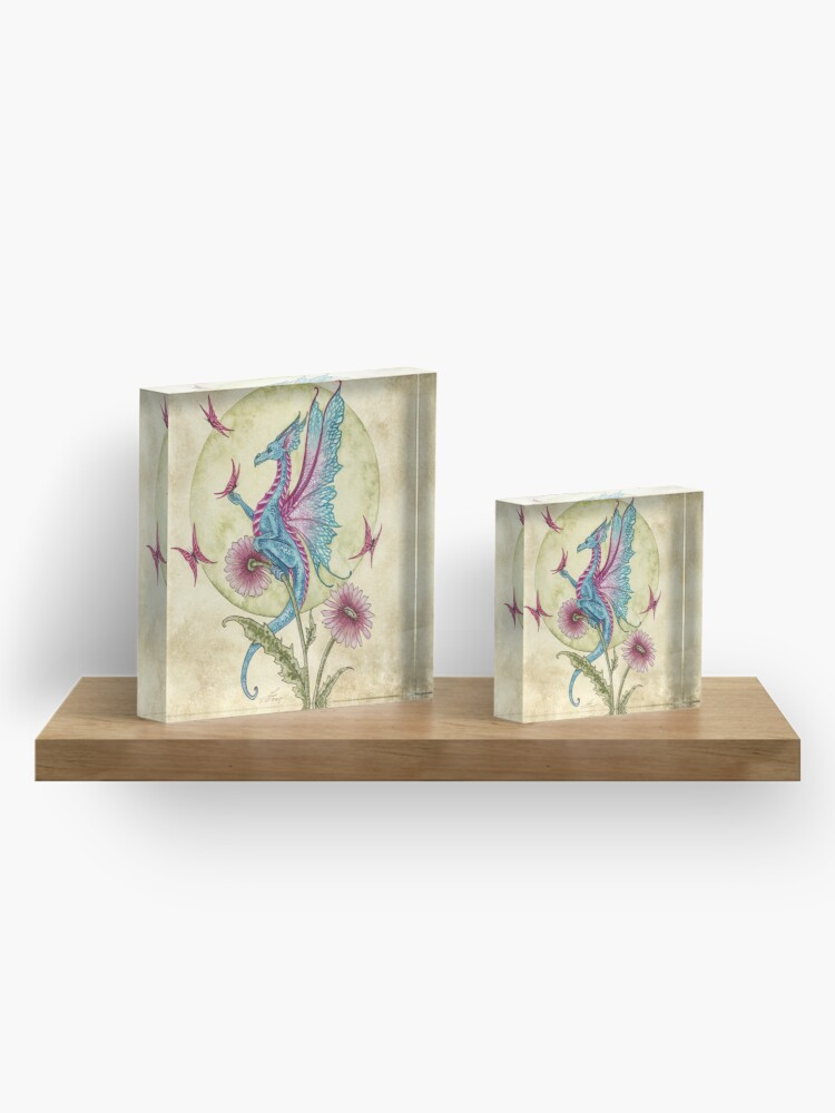 Alternate view of Butterfly Daydream Acrylic Block