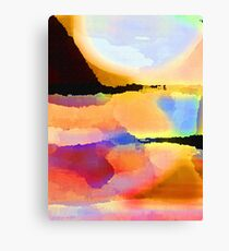 Color Field Canvas Print
