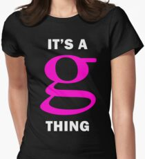 Garbage It's A G Thing Womens Fitted T-Shirt