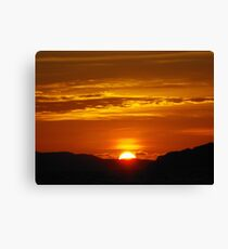 Koh Phra Nang Sunset Canvas Print