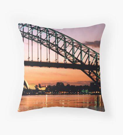 Sydney Dawn Throw Pillow