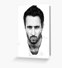 Alex O'Loughlin Greeting Card