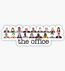 The Office Characters Sticker