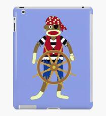 Sock Monkey Pirate iPad Case/Skin