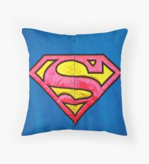 SUPERWOMAN!!! Throw Pillow