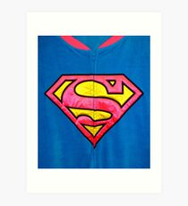SUPERWOMAN!!! Art Print