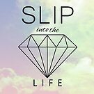 "Seventeen- ""Slip into the diamond life"" Rose quartz and Serenity  by Amala Benny"