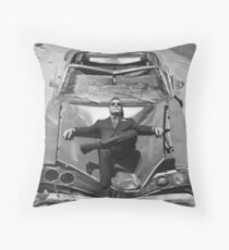 Bryan Cranston (black&white) Throw Pillow