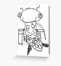 Ant the Insect Greeting Card