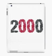 2000 iPad Case/Skin