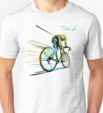 Vintage Paris Roubaix - Cycling Art T-Shirt