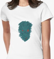 Angry Dragon Women's Fitted T-Shirt