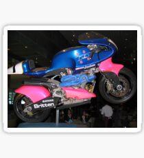 Britten Race Motorcycle Sticker