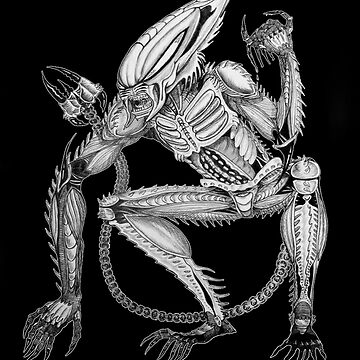 Alien - Xenoscorpial version by Thoughtmasons