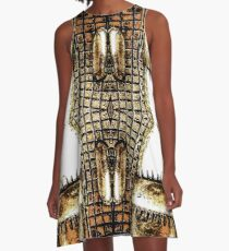 Go For The Gold A-Line Dress