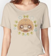 Sloth Face Women's Relaxed Fit T-Shirt