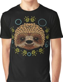 Sloth Face Graphic T-Shirt