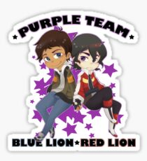 Purple Team Sticker