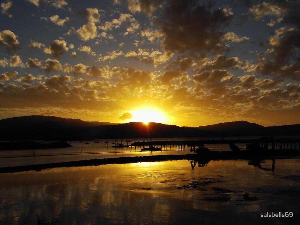 Airley Beach - Sunset ~  by salsbells69