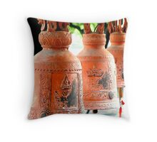 Temple Bells Throw Pillow