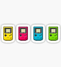 Pixel Gameboy Color Sticker
