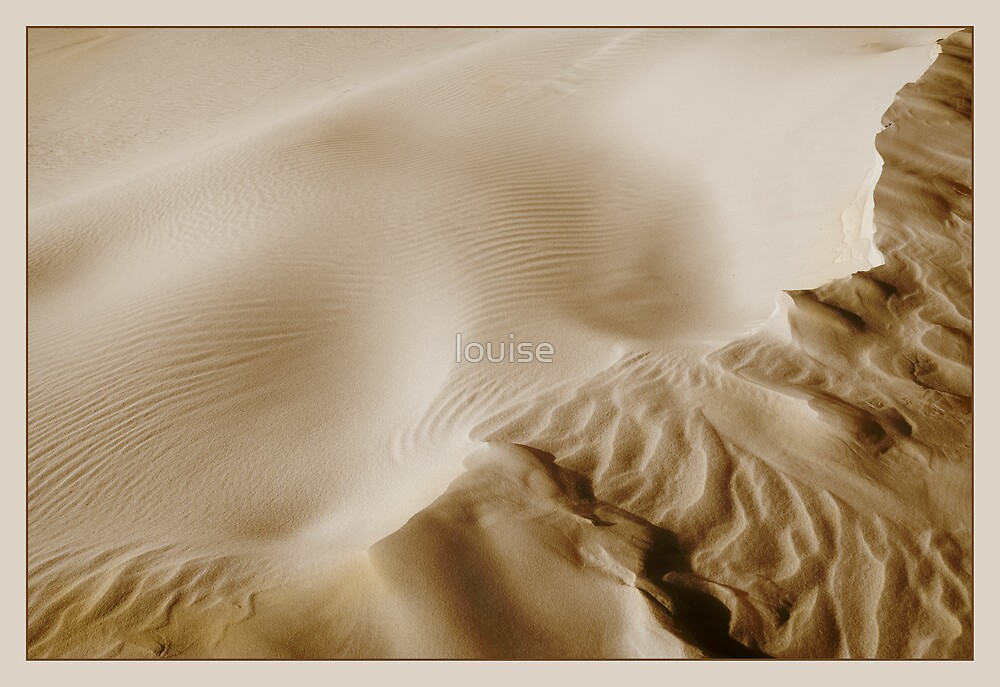 sculptured sand by louise