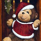 Christmas Bear In A Box by Michael Beckett