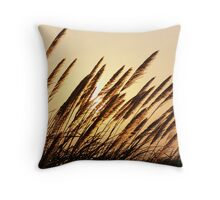 Pampas Sunset Throw Pillow