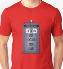 Good Men Dont Need Rules - Doctor Who T-Shirt