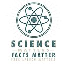 Science Matters, Facts Matter, Free Speech Matters - Vintage by jitterfly