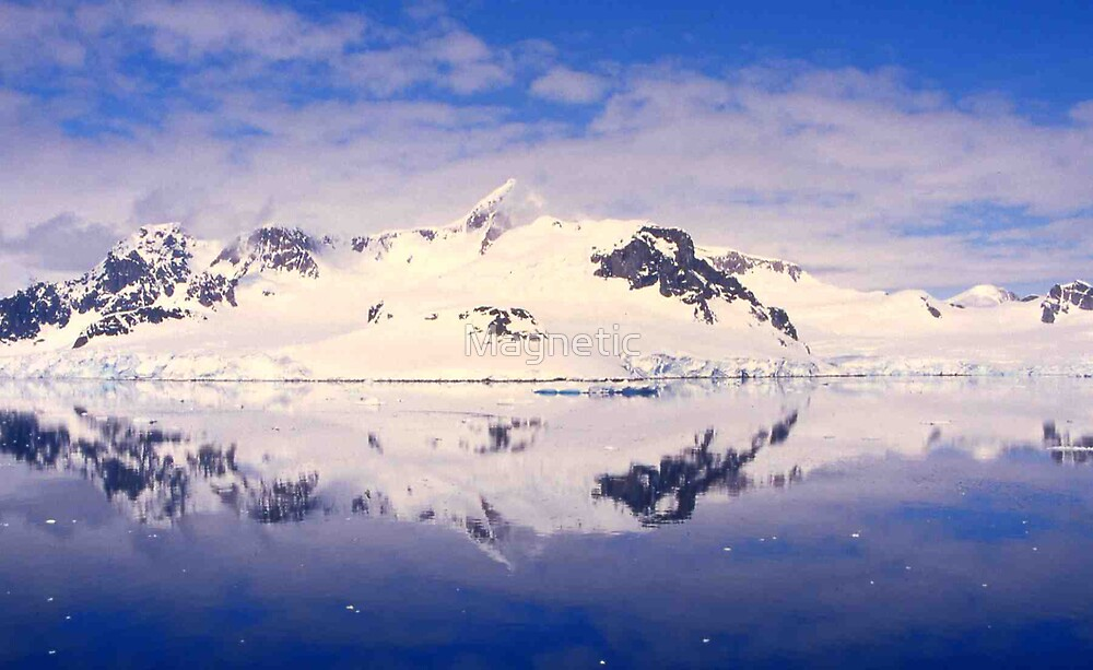 Reflection in Antarctica by Magnetic