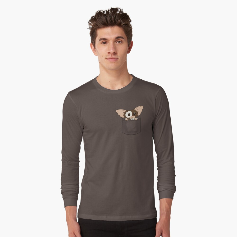 Camiseta de manga largaPocket Gizmo Delante