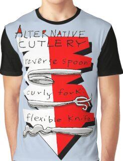Alternative Cutlery Graphic T-Shirt