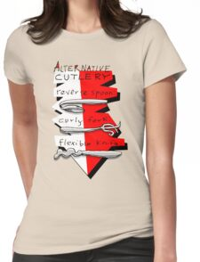 Alternative Cutlery Womens Fitted T-Shirt