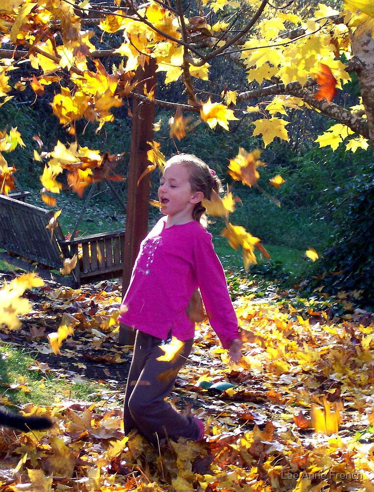 Romp in the Leaves by Lee Anne French