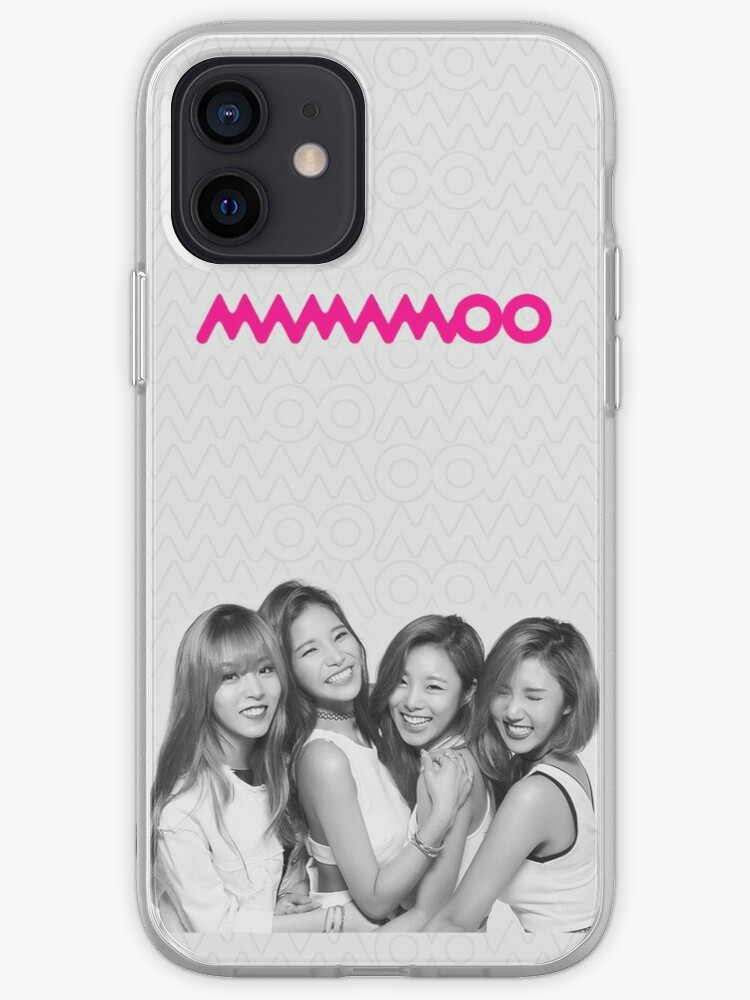 MAMAMOO Kpop Phone Case Carte   Coque iPhone