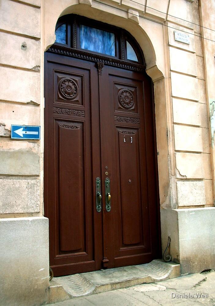 Wooden Colonial Gate by Daniela Weil