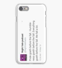 Night Vale Twitter Screencap #5 iPhone Case/Skin
