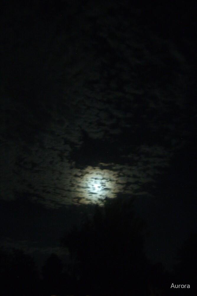 ring around the moon by Aurora