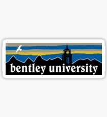Bentley University Sticker
