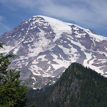 Mt. Rainier by plaidfluff