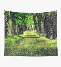 Green Path Wall Tapestry