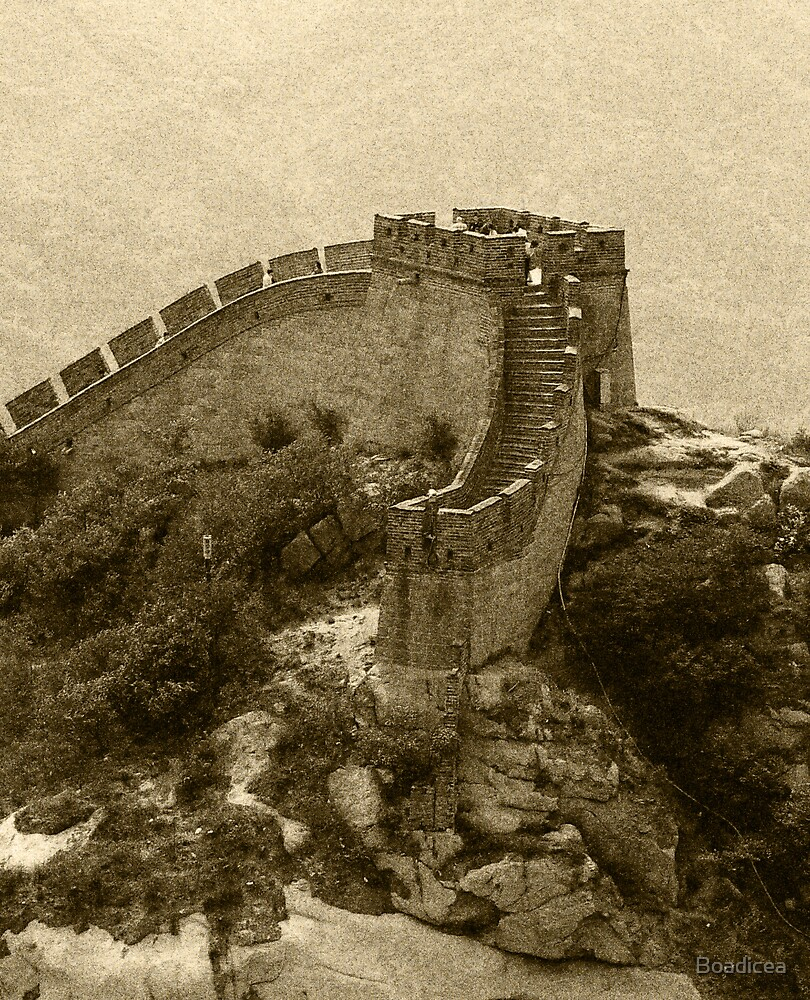 Tower on the Great Wall by Boadicea