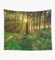 Forest Sunrise Wall Tapestry