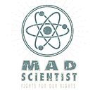 Mad Scientist - Fights for our Rights - Vintage Grunge by jitterfly