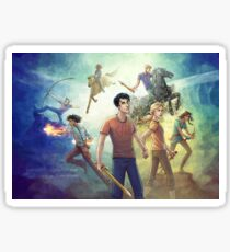 Percy Jackson and the Prophecy of Seven Sticker
