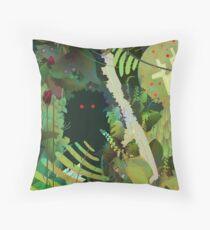 Jungle Monster ! Throw Pillow