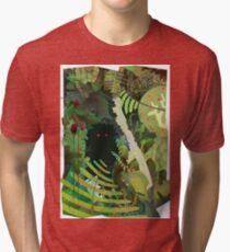 Jungle Monster ! Tri-blend T-Shirt